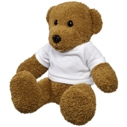 Large plush rag bear w shirt