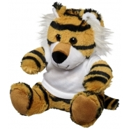 Tiger plush w shirt