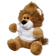 Plush lion w shirt